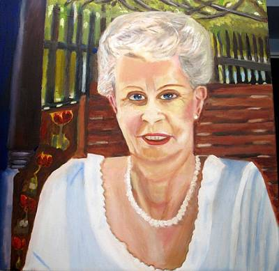 Niagara On The Lake Painting - Mary by Keith Bagg