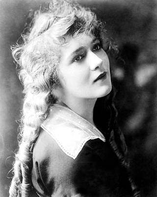 Mary Pickford, Ca. 1918 Art Print