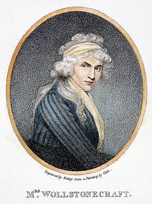 Mary W. Godwin (1759-1797) Art Print by Granger