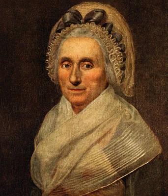 Mary Washington - First Lady  Art Print by International  Images