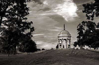 Photograph - Maryland Monument - Antietam by Judi Quelland