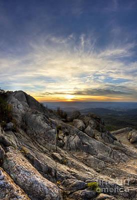 Shenandoah National Park Photograph - Marys Rock Shenandoah National Park by Dustin K Ryan