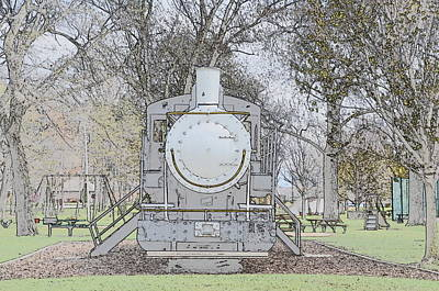 Photograph - Marysville Michigan Train by Randy J Heath