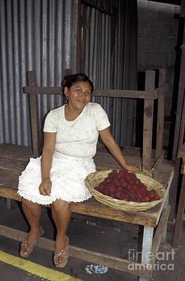 Photograph - Masaya Vendor Nicaragua by John  Mitchell