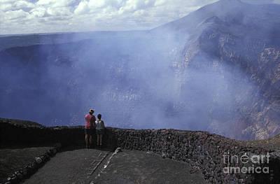 Photograph - Masaya Volcano Nicaragua by John  Mitchell