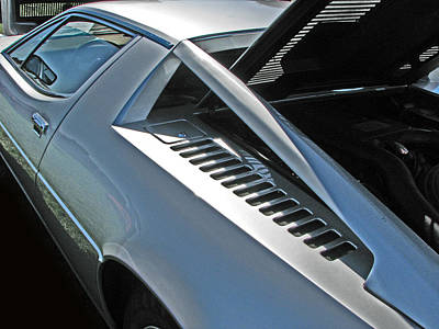 Photograph - Maserati Merak Detail by Samuel Sheats