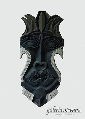 Mask 2 2006 Art Print by Eduardo Leiva