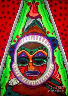 Pastel - Mask by Lydia L Kramer
