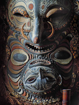 Photograph - Mask by Nancy Griswold