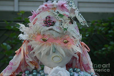 Photograph - Masked Angel by Susan Herber