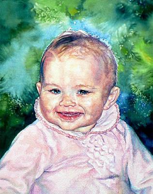 Ontario Portrait Artist Painting - Masons Sister Sarah by Hanne Lore Koehler