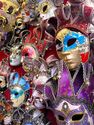 Photograph - Masquerade Full Color by Heidi Horowitz