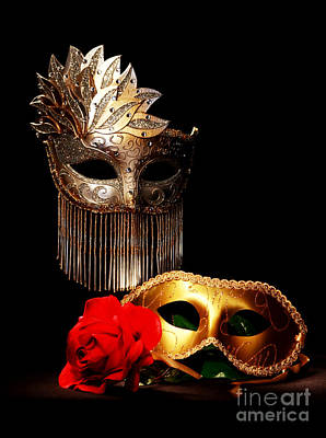 Masquerade Art Print by Gary Scott