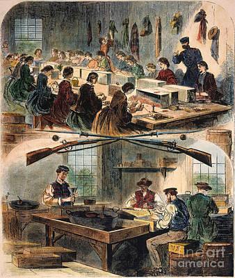 Mass.: U.s. Arsenal, 1861 Art Print
