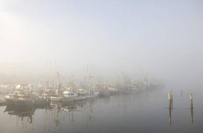 Haida Gwaii Photograph - Massett Harbor Early In The Morning by Taylor S. Kennedy