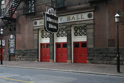 Massey Hall Wall Art - Photograph - Massey Hall Four by Alan Rutherford