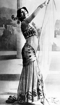 Mata Hari, 1876-1917, Dutch Exotic Art Print by Everett