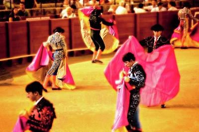 Photograph - Matadors  by Harry Spitz