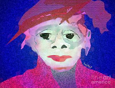 Mixed Media - Matching Hat  by Mimo Krouzian