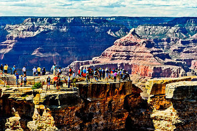 Painting - Mather Point by Bob and Nadine Johnston