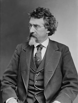 Mathew B. Brady 1823-1896, Prominent Art Print by Everett