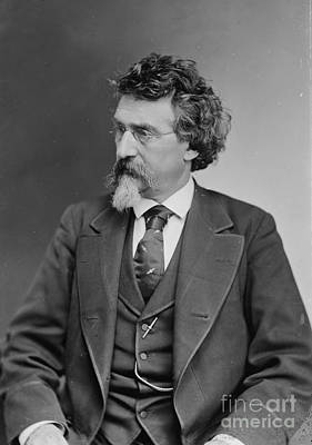 Self-portrait Photograph - Mathew Brady, Father Of Photojournalism by Photo Researchers