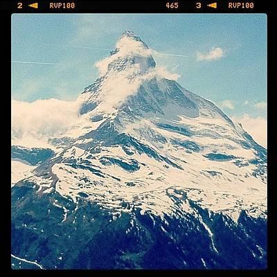 Icon Photograph - Matterhorn by Quique Alicante