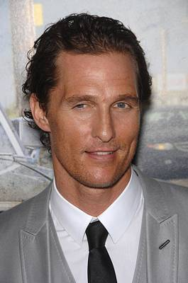 Arclight Hollywood Photograph - Matthew Mcconaughey At Arrivals For The by Everett
