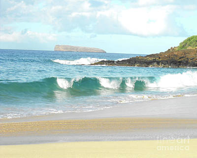 Maui Hawaii Beach Art Print
