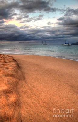 Kaanapali Beach Photograph - Maui Sunrise by Kelly Wade