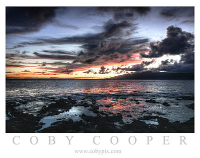 Photograph - Maui Sunset by Coby Cooper