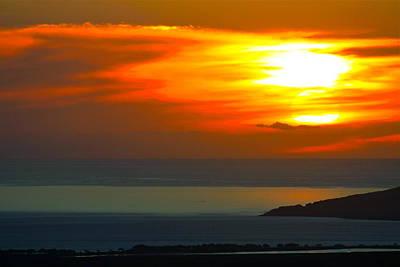 Photograph - Maui Sunset by Karon Melillo DeVega