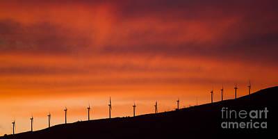 Wind Turbine Photograph - Maui Wind Power by Dustin K Ryan