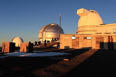 Keck Photograph - Mauna Kea Observatories by Scott Rackers