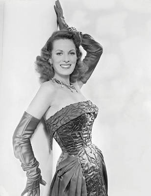 Maureen Ohara, Circa 1954 Art Print by Everett