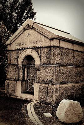 Mausoleum Of Memories Art Print