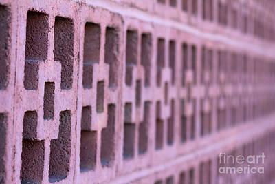 Photograph - Mauve Blocks by Alycia Christine