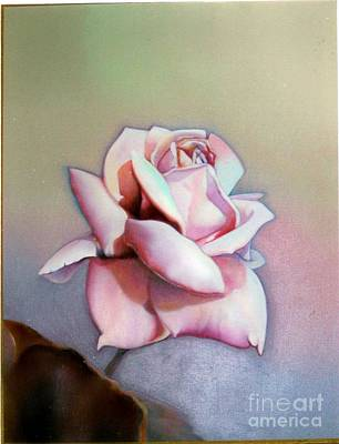Painting - Mauve Rose by Geri Jones