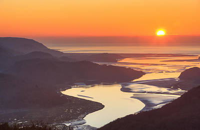 Whimsically Poetic Photographs Rights Managed Images - Mawddach sunset Royalty-Free Image by Rory Trappe