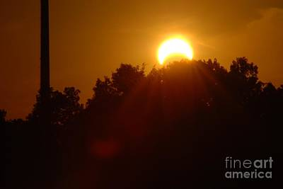 Photograph - May 2012 Eclipse by Mark McReynolds