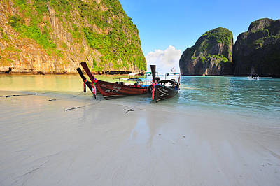 Photograph - Maya Beach by Bernard Chen