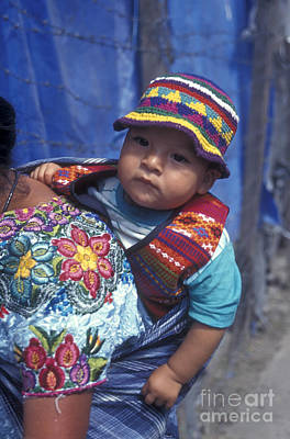 Photograph - Mayan Baby Antigua Guatemala by John  Mitchell