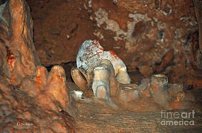 Photograph - Mayan Cave Rituals by Li Newton