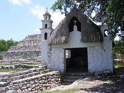 Photograph - Mayan Chapel by Diane Ferguson