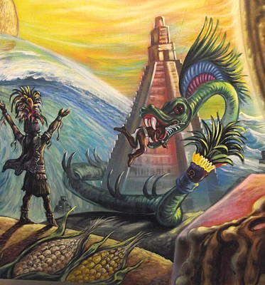 Mayan Predictions 2012 Original by Joe Santana