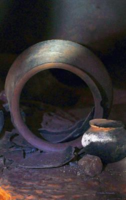 Photograph - Mayan Ritual Pottery by Li Newton