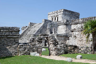 Y120817 Photograph - Mayan Ruins by Monica and Michael Sweet