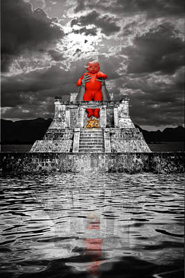 Human Sacrifice Photograph - Mayan Sacrifice by Andy Frasheski