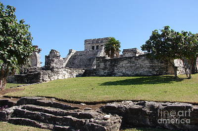 Photograph - Mayan Temple by Priscilla Richardson