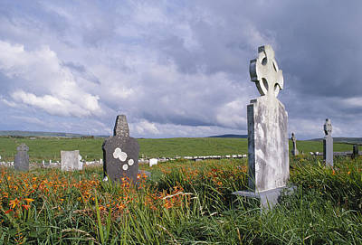 Photograph - Mayo Cemetery by John Farley